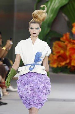 Christian Dior Haute Couture F/W 2010:Kasia Struss