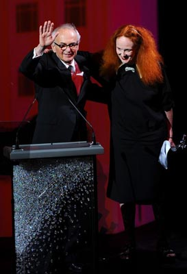 2011 CFDA Fashio Awards - Arthur Elgort & Grace Coddington