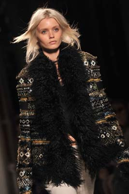 Balmain F/W 2011 - Abbey Lee Kershaw