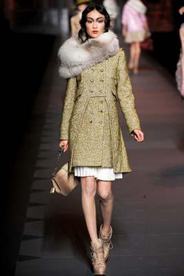 Christian Dior F/W 2011 - Shu Pei