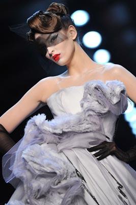 Christian Dior Haute Couture S/S 2011 - Georgina Stojiljkovic
