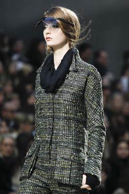 Chanel F/W 2011 - Codie Young
