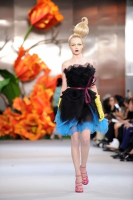Christian Dior Haute Couture F/W 2010:Siri Tollerod