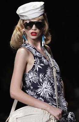 Christian Dior S/S 2011 : Diana Farkhullina
