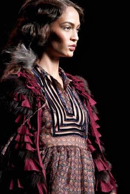 Christian Dior F/W 2011 - Joan Smalls