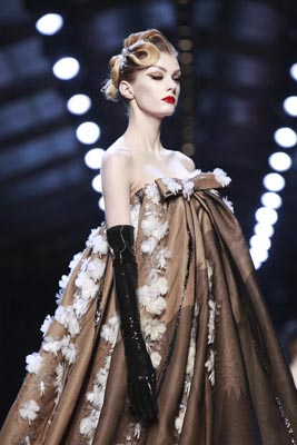 Christian Dior Haute Couture S/S 2011 - Sigrid Agren