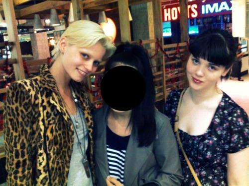 "Blogger ""Fashion & Love"" met Abbey Lee"
