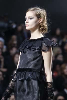 Chanel F/W 2011 - Juju Ivanyuk
