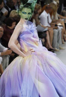 Christian Dior Haute Couture F/W 2010:Georgina Stojiljkovic