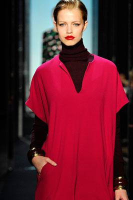 Diane von Furstenberg F/W 2011 - Hailey Clauson