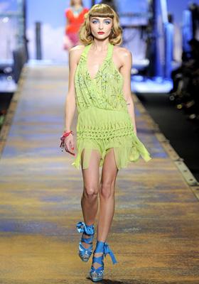 Christian Dior S/S 2011 : Snejana Onopka