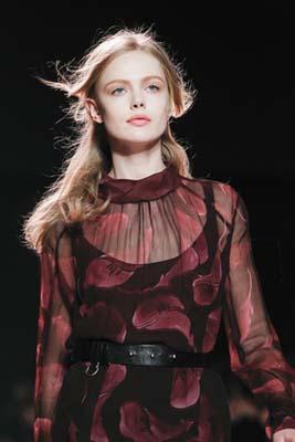 Nina Ricci F/W 2011 - Frida Gustavsson