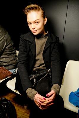 Dolce & Gabbana F/W 2011 - Siri Tollerod