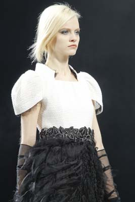 Chanel F/W 2011 - Ginta Lapina
