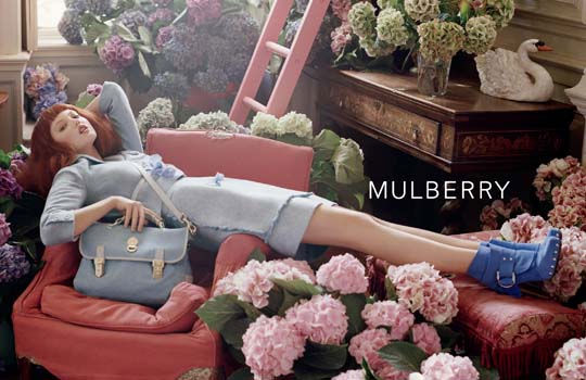 Mulberry S/S 2011 : Lindsey Wixson