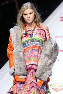 D&G F/W 2011 - Maryna Linchuk