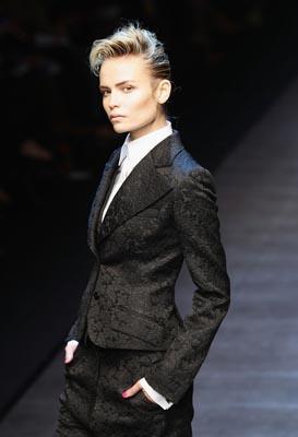 Dolce & Gabbana F/W 2011 -Natasha Poly