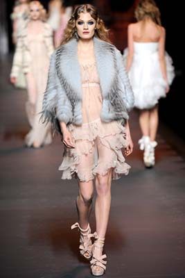 Christian Dior F/W 2011 - Constance Jablonski
