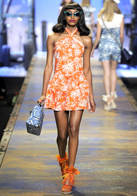 Christian Dior S/S 2011 : Jourdan Dunn