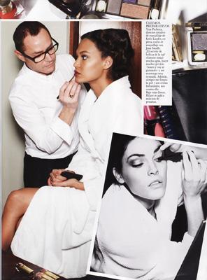 Vogue Spain April 2011 - Joan Smalls, Hilary Rhoda