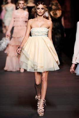 Christian Dior F/W 2011 - Michaela Kocianova