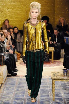 Chanel Paris-Byzance Pre Fall 2011 - Aline Weber