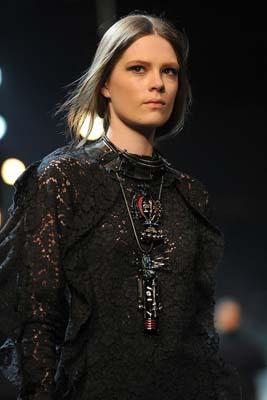 Lanvin F/W 2011 - Caroline Brasch Nielsen