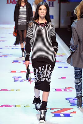 D&G F/W 2011 - Jacquelyn Jablonski