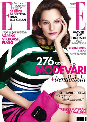 Elle Sweden March 2011 : Sara Blomqvist
