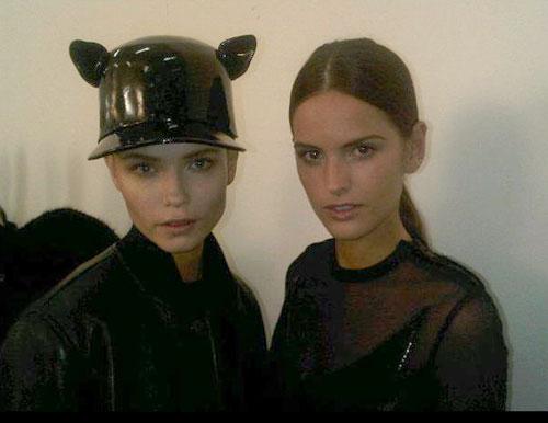 Givenchy F/W 2011 - Natasha Poly,Izabel Goulart