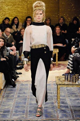 Chanel Paris-Byzance Pre Fall 2011 - Iselin Steiro