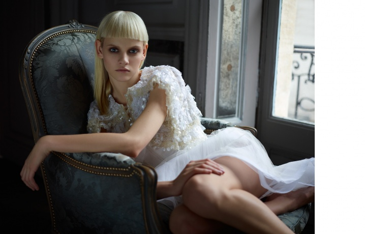 NORTHERN WOMEN IN CHANEL - Ginta Lapina