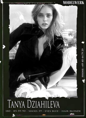 BFW A/W 2011:MODELWERK - Tanya Daiahileva