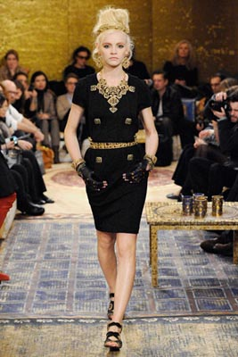 Chanel Paris-Byzance Pre Fall 2011 - Ginta Lapina