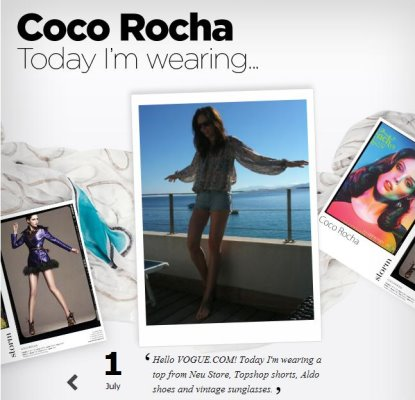 VOGUE.COM-Coco Rocha 31 different outfits in 31 days