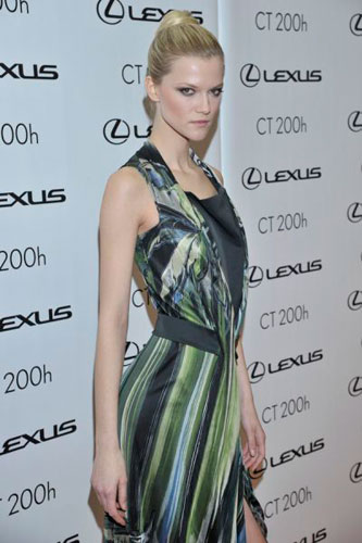 Kasia Struss at Lexus Fashion Night 6