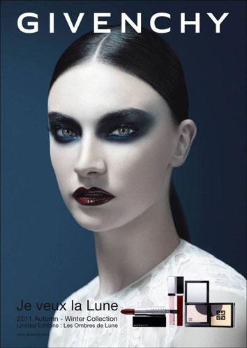 Givenchy Beauty F/W 2011 : Jacquelyn Jablonski