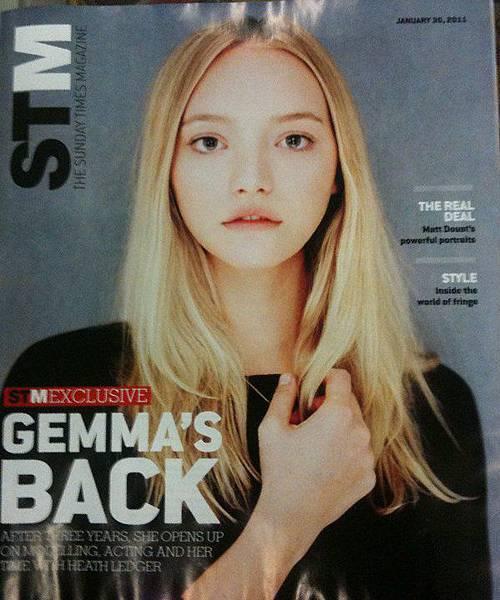 The Sunday Times - Gemma Ward