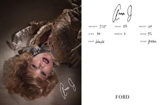 Show Packages-NY SS 11: Ford Models - Anna Maria Jagodzinska