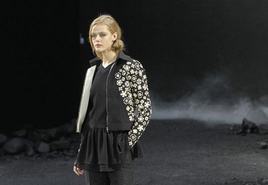 Chanel F/W 2011 - Frida Gustavsson