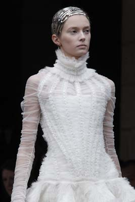 Alexander McQueen F/W 2011 - Sigrid Agren