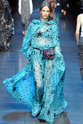 Dolce & Gabbana F/W 2011 - Aymeline Valade