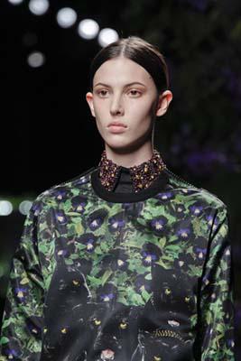 Givenchy F/W 2011 - Ruby Aldridge