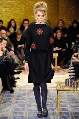 Chanel Paris-Byzance Pre Fall 2011 - Sasha Pivovarova