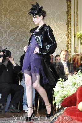 John Galliano F/W 2011 - Maria Kashleva