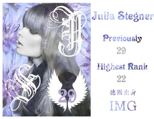 29.Julia Stegner