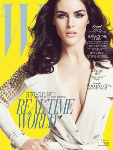 W Korea May 2011 : Hilary Rhoda