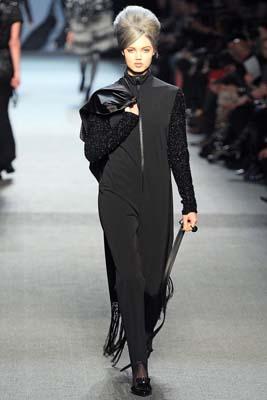 Jean Paul Gaultier F/W 2011 - Lindsey Wixson