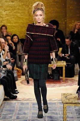 Chanel Paris-Byzance Pre Fall 2011 - Snejana Onopka