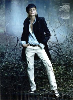 Vogue August 2010:Daria Strokous